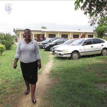 Sister Evelyn Ntiamoah, CSC, in Ghana