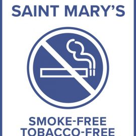 Saint Mary's Campus Smoke-free and Tobacco-free policy