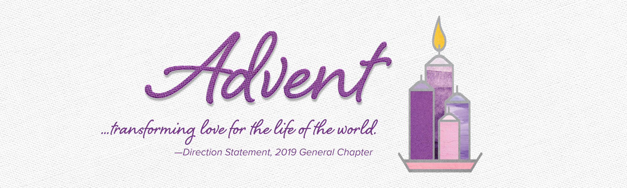 Sisters of the Holy Cross 2020 Advent brochure