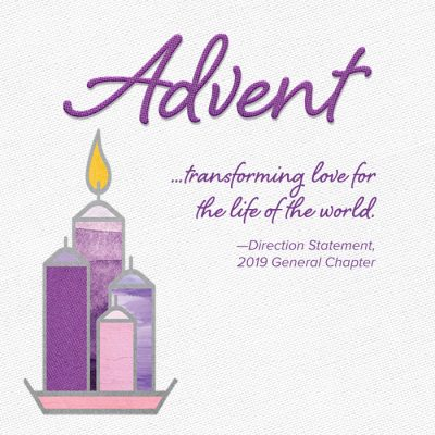 2020 Advent Sisters of the Holy Cross mobile
