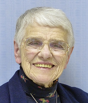 Sister Patricia Ann Thompson, CSC