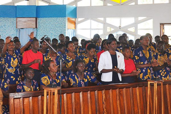 Mass was held at Virika Catherdral of Our Lady of Snows in Fort Portal, Uganda