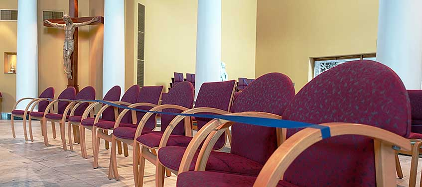 Church of Our Lady of Loretto chair renovation project