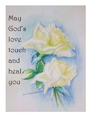 Sisters of the Holy Cross Remembrance cards— Get Well