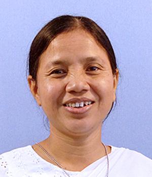 Sister Mala Kubi, CSC