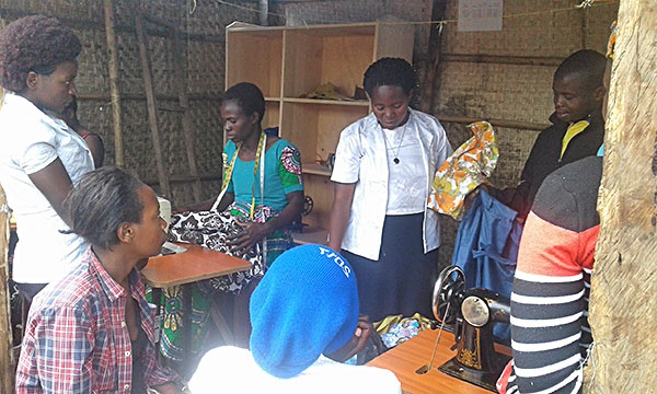 A Ministry With the Poor fund grant provides skill development training through work-based learning programs.