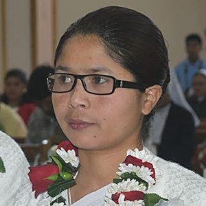 Sister Bijoycy Thongnibah, CSC