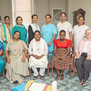 Sisters from Uganda, Bangladesh and Brazil participated in the Tertian Program from July 23 through September 1.