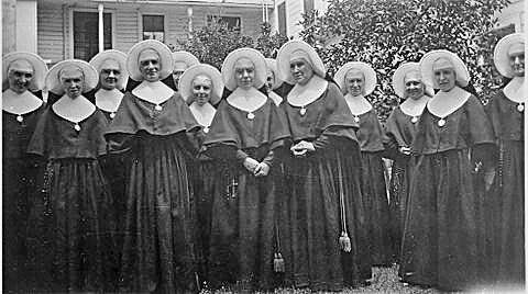 Dozens of Holy Cross sisters served at Holy Rosary School over the course of 91 years.