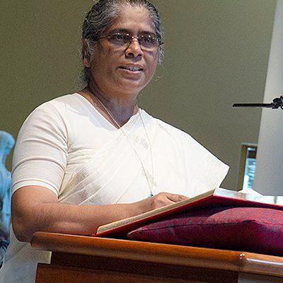 Sister Pushpa Teresa Gomes, CSC