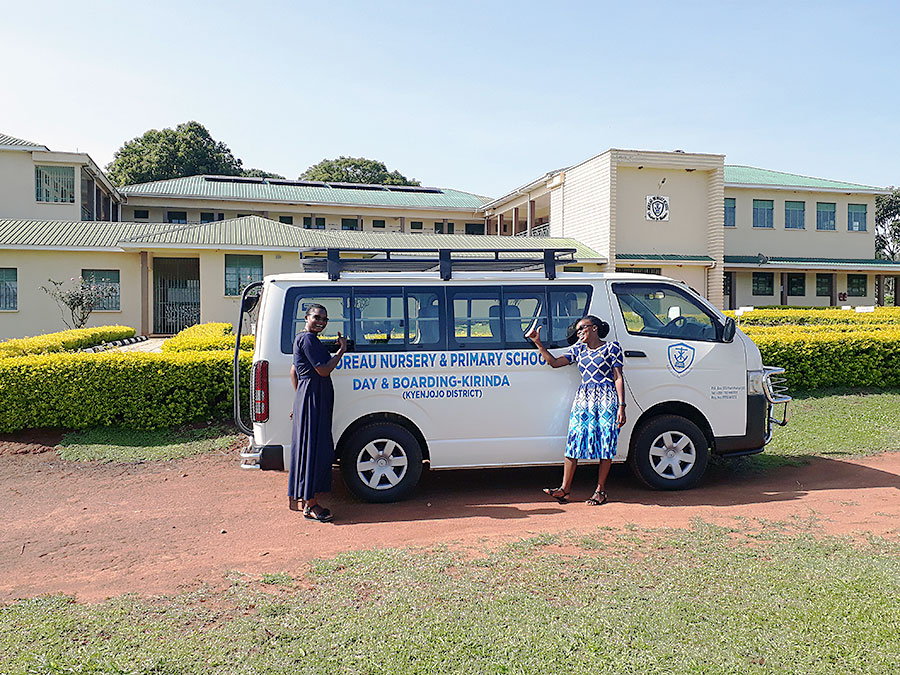 Uganda needs a bus, Sisters share their excitement