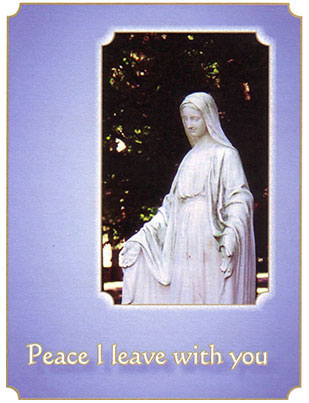 2021 Sisters of the Holy Cross Remembrance card, Our Lady