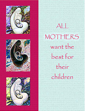 2021 Sisters of the Holy Cross Remembrance card, Mother's Day