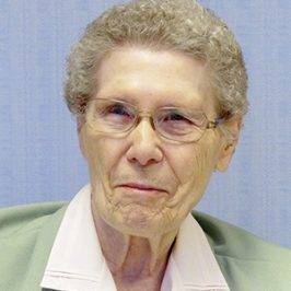 Sister Miriam David (Peterson), CSC