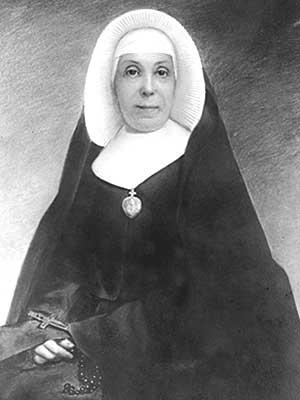 Mother Angela Gillespie, CSC portrait