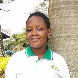 Ritah Komuhendo midwife at Kyembogo Health Centre