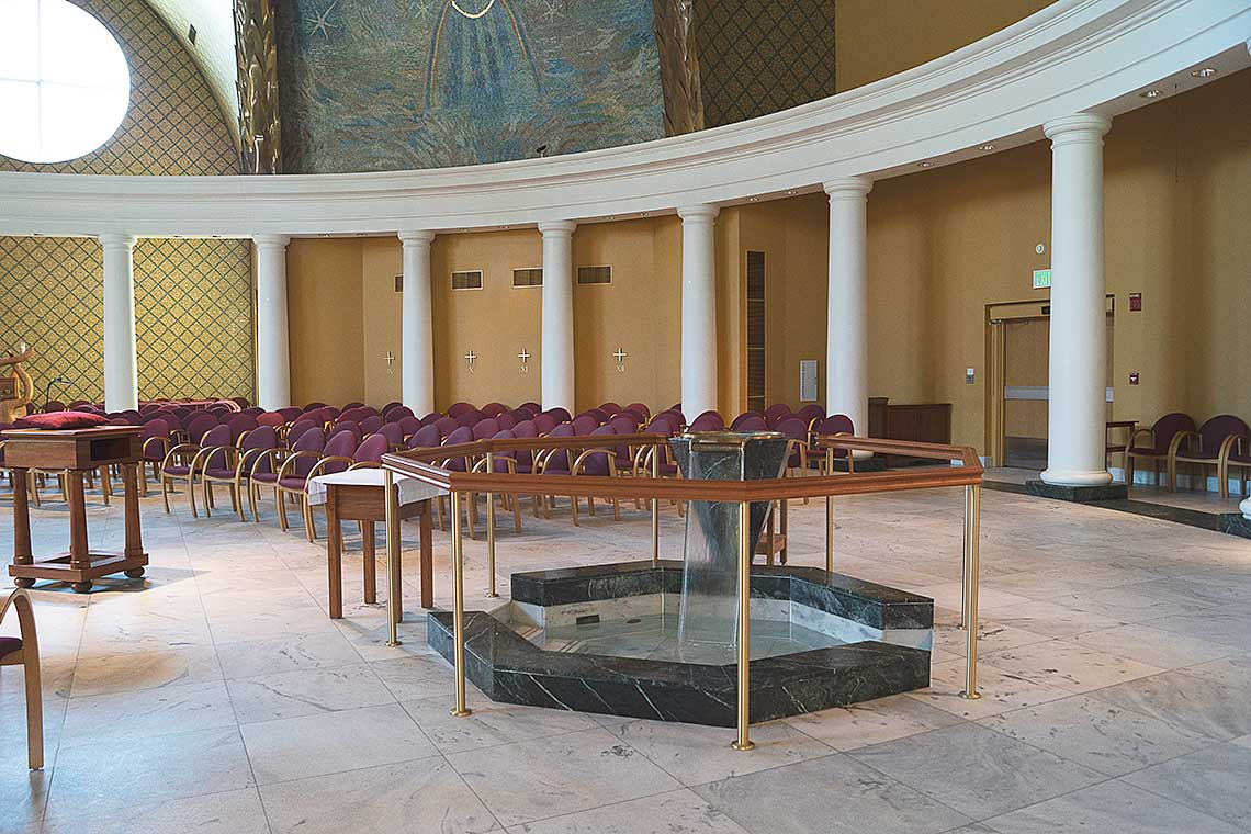 Church of Our Lady of Loretto spring renovation project