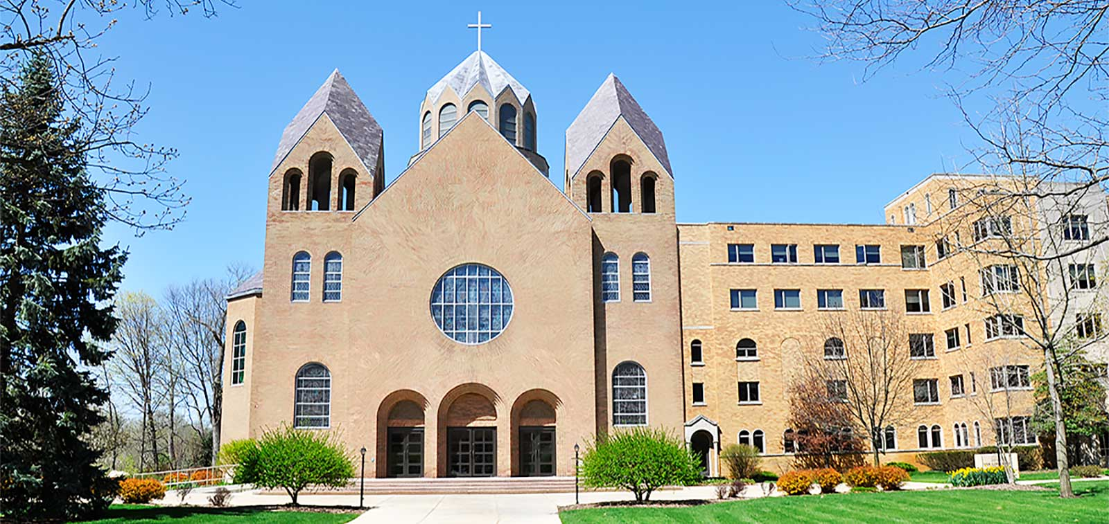 The Church of Our Lady of Loretto, Saint Mary's, Notre Dame, Indiana